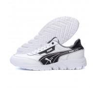 Мужские кожаные кроссовки Puma White 10\2