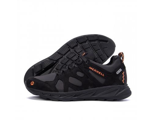 Мужские кожаные кроссовки MERRELL MZ black