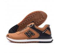 Мужские кожаные кроссовки NB Clasic NBриж