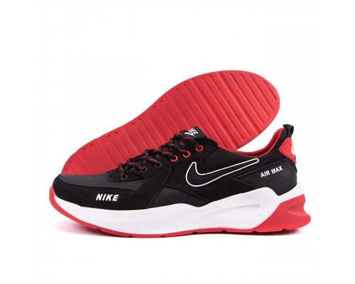 Мужские кожаные кроссовки Nike Black AIR MAX N67 чк