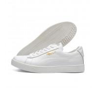 Мужские кожаные кроссовки Puma White Pearl
