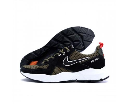 Мужские летние кроссовки сетка Nike olive