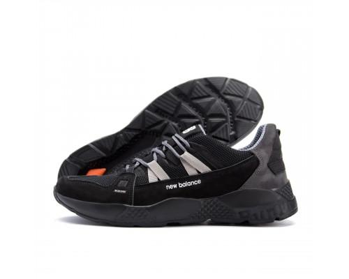Мужские летние кроссовки сетка New Balance Black 2183