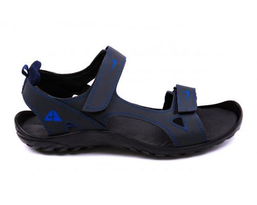 Мужские кожаные сандалии Nike NS blue