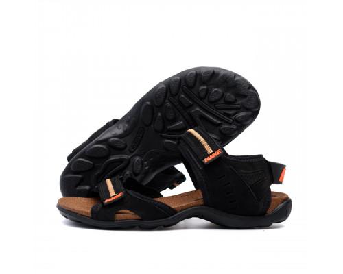Мужские кожаные сандалии Nike Active Drive Orange