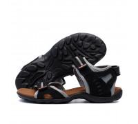 Мужские кожаные сандалии Nike Active Drive Grey