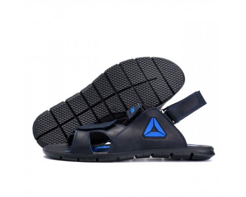 Мужские кожаные сандали Reebok NS blue