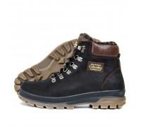 Мужские зимние кожаные ботинки Columbia 220 орех