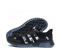 Мужские кожаные кроссовки Adidas XZ Black