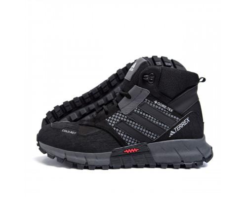 Мужские зимние кожаные ботинки Adidas TERREX COLD.RDY