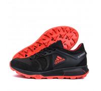 Мужские кожаные кроссовки Adidas Terrex Black 2241
