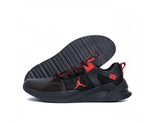 Мужские кожаные кроссовки Jordan Red Line