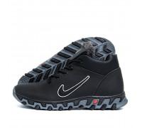 Мужские зимние кожаные ботинки Nike N3ч