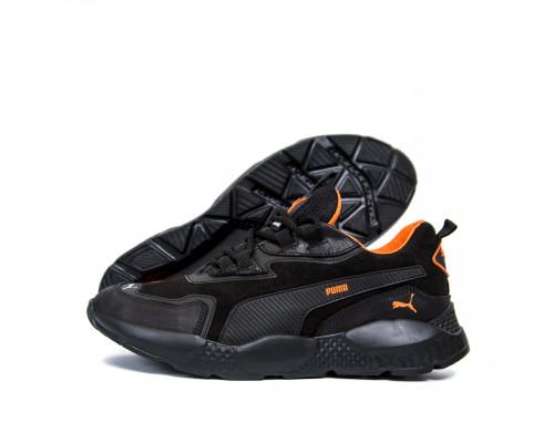 Мужские кожаные кроссовки Puma ST RUNNER