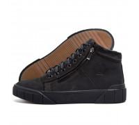 Мужские зимние кожаные ботинки Philipp Plein