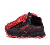 Мужские зимние кожаные ботинки Puma Бот 10\5
