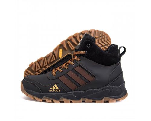 Мужские зимние кожаные ботинки AdidasБот 525 кор