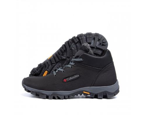 Мужские зимние кожаные ботинки Columbia 2277-01