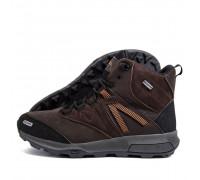 Мужские зимние кожаные ботинки MERRELL Brown Мт кор бот
