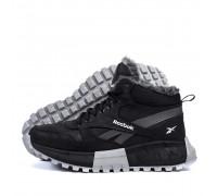 Мужские зимние кожаные ботинки Reebok R-05ч