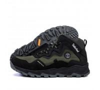 Мужские зимние кожаные ботинки Timberlend Т1 хаки