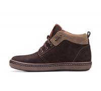 Мужские зимние кожаные ботинки Chocolate Shoes