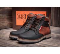 Мужские зимние кожаные ботинки Wrangler Arizona Brown