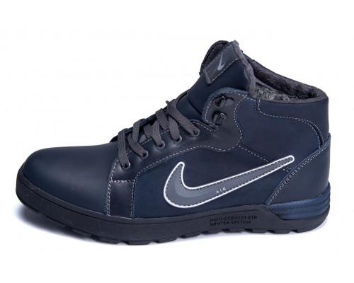 Мужские зимние кожаные ботинки Nike Anti-Core
