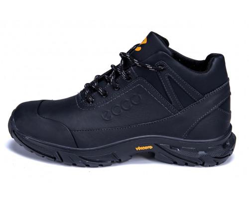 Мужские зимние кожаные ботинки Ecco Active Drive