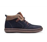 Мужские зимние кожаные ботинки Bastion 081 с