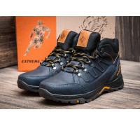 Мужские зимние кожаные ботинки Columbia NS blue