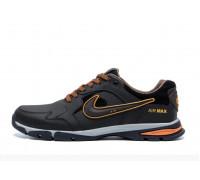 Мужские кожаные кроссовки Nike Street Style Brown 202