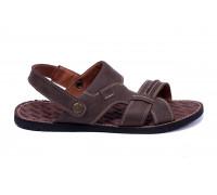 Мужские кожаные сандалии Bonis Original Brown