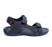 Мужские кожаные сандалии Ecco Flex Zone Tracking Black