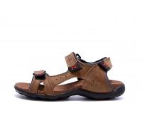 Мужские кожаные сандалии Ecco Flex Zone Tracking Olive