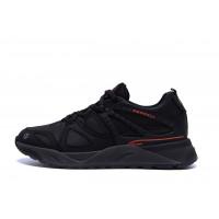 Мужские кожаные кроссовки MERRELL vlbram Black
