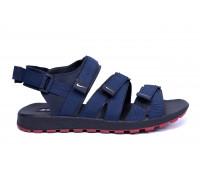 Мужские кожаные сандалии Nike Summer life blue