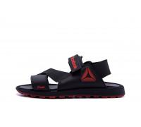 Мужские кожаные сандалии Reebok Track Black
