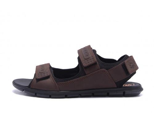 Мужские кожаные сандалии AND Wofstep Brown