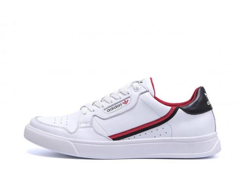 Мужские кожаные кеды Adidas Stan Smith White