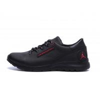 Мужские кожаные кроссовки Jordan Red Style