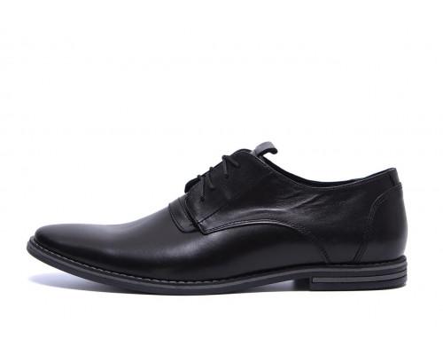 Мужские кожаные туфли классика VanKristi VK 343 кожа