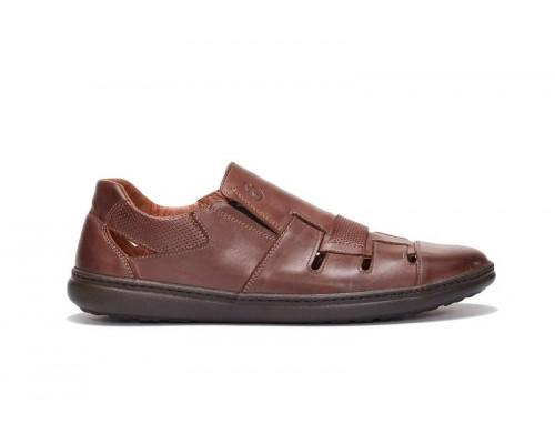 Мужские кожаные летние туфли 19031р