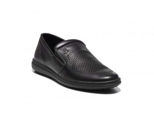 Мужские кожаные летние туфли 19050ч