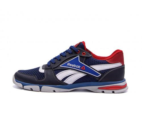 Мужские летние кроссовки сетка Reebok Street Style Blue