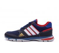 Мужские летние кроссовки сетка Adidas Tech Flex Blue
