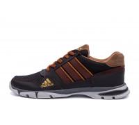 Мужские летние кроссовки сетка Adidas Tech Flex Brown
