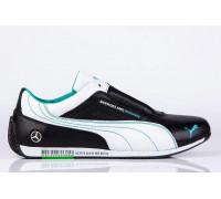 Мужские кожаные кроссовки Puma Mersedes Amg Petronas