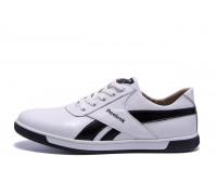 Мужские кожаные кроссовки Reebok R-50 white