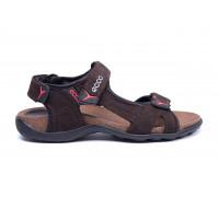 Мужские кожаные сандалии Ecco Active Drive Brown